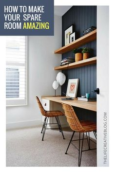 Raise your hand if your spare room doubles as a storage space http://www.thelifecreativeblog.com/howto-decorate/spare-room-ideas/?utm_campaign=coschedule&utm_source=pinterest&utm_medium=The%20Life%20Creative&utm_content=Spare%20Room%20Ideas%3A%20Let%27s%20Make%20this%20Forgotten%20Space%20Stunning