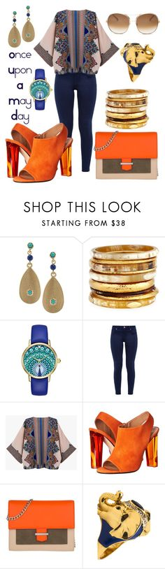 """""""Once Upon A May Day"""" by ghadalog ❤ liked on Polyvore featuring Lauren Ralph Lauren, Ashley Pittman, Kate Spade, Ted Baker, Calvin Klein Collection, HUGO, Kardashian Kollection, Chloé, Spring and mayday"""