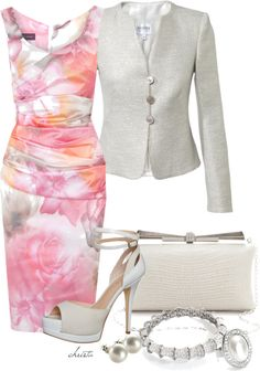 """Spring Floral"" by christa72 on Polyvore"