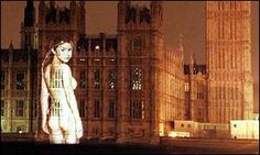 An oldie but a goodie - Gail Porter on the Houses of Parliament, for FHM if my memory serves me correctly