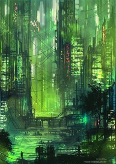 MTL Writer, daydreamer and resident cyberpunk. The brain that collates this visualgasm also assembles words into post-cyberpunk dystopia: my writing Check out my Ko-fi page! Cyberpunk City, Ville Cyberpunk, Cyberpunk Kunst, Futuristic City, Cyberpunk 2077, Fantasy World, Fantasy Art, New Retro Wave, Science Fiction Kunst