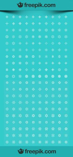 200 snowflake icons (PNG, JPG, SVG)