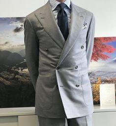 "paul-lux: "" I love DB suits #wiwt #lookbook #apparel #mnswr #menswear #igfashion #guyswithstyle #mensfashionpost #fashion #mensfashion #gentleman #gentlemen #gentlemanstyle #ootdmen #lookoftheday..."