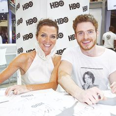 *more sad sighs* richard madden x michelle fairley