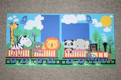 Disney Scrapbook Layouts Using Cricut | What do you use your Cricut for, other than alphabets? - Scrapbook.com ...