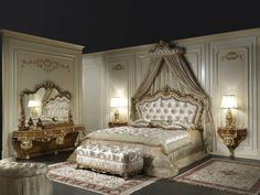 chambre style baroque luxueuse pleine caract bedroom furniture such the nobles sleep interior Deco Baroque, Baroque Decor, Modern Luxury Bedroom, Luxurious Bedrooms, Luxury Bedrooms, Cheap Furniture, Luxury Furniture, Furniture Buyers, Furniture Nyc
