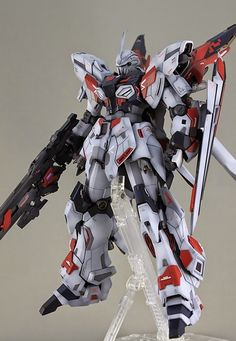 GUNDAM GUY: MG 1/100 Sinanju Prototype - Customized Build