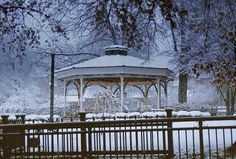 Gazebo on the Town Square, Collierville, Tennessee by Peer Into The Past, via Flickr