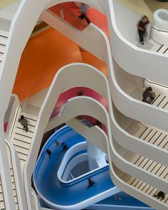 Staircases at Medibank building in Melbourne / by Hassell