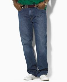 Ralph Lauren Big and Tall Jeans, Classic Fit - Mens - Macy's
