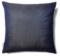 Antique Denim 18x18 Outdoor Pillow, Navy