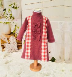 Handmade wool baby girl clothes.Winter wool long sleeves dress .Darling dress,perfect for wedding ,flower girl,birthday,dress up,photo shoots,holly communion,cake smash,christening and any special occasions❤️❤️❤️❤️❤️❤️#baby#girl#dress#winter#clothes#wool#handmade#gorgeous# baby outfit#fashion baby#fashion girl#baby girl#princess dress#fashion sleeves#winter dress#sleeves Dress Winter, Winter Dresses, Winter Outfits, Birthday Girl Dress, Birthday Dresses, Dress Sleeves, Dresses With Sleeves, Dress Fashion, Fashion Outfits