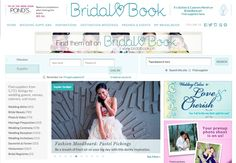 Plan your dream wedding with BridalBook!  Visit www.bridalbook.ph now and check out our new look! ♥