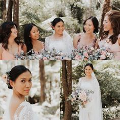 Martha's #beautiful #wedding #photos #pixieset photography by @Sean takphotos #bridalhair #bridalmakeup By #makeupartist @vivianashworth_  💋💄Flowers 💐 by Melanie of Viva Le Fleur @vivalefleur  Emerald/Cockatoo . Martha's #bridalgown was made by an English-Filipino #designer based in Manila. Lauren dela Cruz. #truelove #romantic #countrywedding #skyhigh