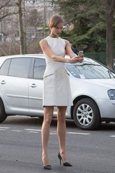 Karlie Kloss: proof even celebs can look ridiculous taking selfies. See 90 more examples.