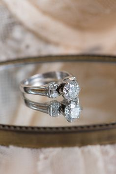Engagement Ring by Littman Jewelers - Rose Quartz Ballet Inspiration Shoot at the Capen-Showalter House in Winter Park, Florida - Photo by Corner House Photography - click pin for more - www.orangeblossombride.com