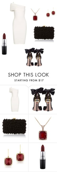 """Opera"" by annmcneilly ❤ liked on Polyvore featuring Michelle Mason, Miu Miu, Elie Saab, Anne Sisteron and MAC Cosmetics"