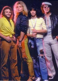 Van Halen 1984. I remember this shot.