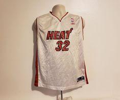b7b69cbf4 NBA Reebok Miami Heat Shaquille O Neal  32 Boys White XL Basketball Jersey