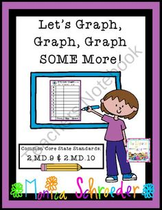 Lets Graph, Graph Some More with the Common Core! from The Schroeder Page on TeachersNotebook.com (42 pages)  - This file is a 42 download of my graphing unit for bar graphs, line plots, pictographs, and more. The activities are aligned with the Common Core State Standards for Measurement and Data.