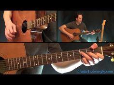 Johnny Cash - Hurt Guitar Lesson - Acoustic - YouTube