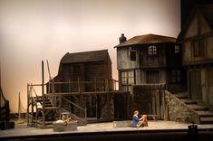Peter Grimes. San Diego Opera. Scenic design by John Conkliin.
