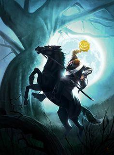 headless horseman | The Headless Horseman by Lion - Fabio Leone - CGHUB
