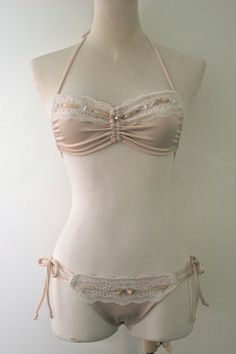 In my head, a chorus of angels starts singing every time I imagine this bikini being mine.