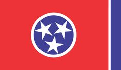 TENNESSEE STATE FLAG -
