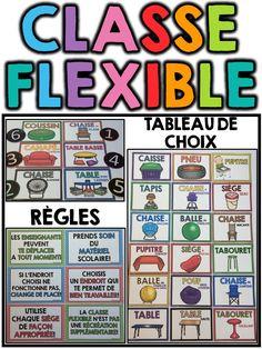 Flexible classroom seating teachers 36 New ideas Classroom Organisation, Classroom Setup, Classroom Management, Primary Teaching, Teaching Tools, Teaching Ideas, French Classroom, Cycle 3, Seating Chart Wedding