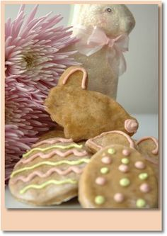 Easter Dog Cookie Recipe