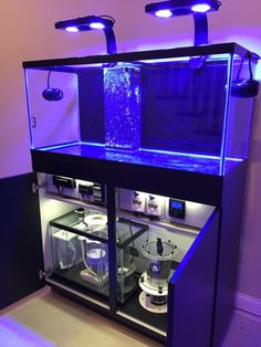 diy aquarium furniture stands are an integral part of every aquatic system. The aquarium stand should be sturdy so that it can bear the weight of a filled a Aquarium Stand, Diy Aquarium, Saltwater Aquarium Setup, Aquarium Sump, Coral Reef Aquarium, Aquarium Terrarium, Saltwater Fish Tanks, Tropical Fish Tanks, Aquarium Design