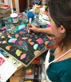 alisaburke: in the studio with alena hennessy and a GIVEAWAY!