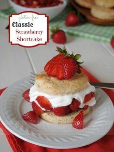 Gluten Free Classic Strawberry Shortcake