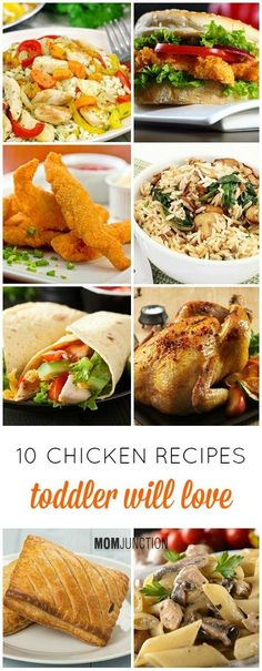 Chicken Recipes For #Toddlers :you can now give them a taste of 'real' food. So, get cooking!