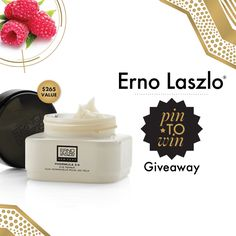Pin to Win for your chance to win a full-size Erno Laszlo Phormula 3-9 Eye Repair!