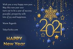 Happy New Year to you and your entire family. May the year 2021 bring happiness, prosperity and good health in everyone's lives. #HappyNewYear2021 #NewYearsEve2021 #newyear Joy And Happiness, New Years Eve, Happy New Year, Wish, Bring It On, Peace, Health, Health Care, Happy New Year Wishes