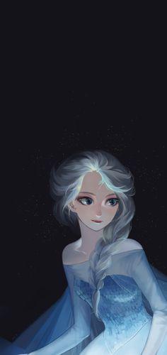Elsa by fanyazi #disney #frozen #fanart