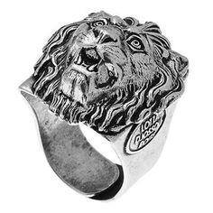 Gggrrr.... Réveillez l'aventurière qui sommeille en vous et adoptez sans attendre cette bague Lion signée Lotta Djossou !  http://www.brandalley.fr/UniversLab-Produit/Id-25018-Rayon-1363539