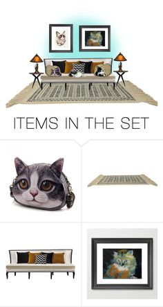 """""""Where Is My Cat Bag?"""" by loveroses123 ❤ liked on Polyvore featuring art"""