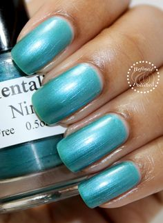 Mentality-Nina swatch by Refined and Polished. Thanks!