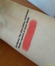 Colecția de rujuri: Oriflame The One Colour Unlimited Matte Lipstick în nuanța Coral Matte mmdm, beauty, beauty blogger, masutameademachiaj, skin, skincare, hair, haircare, cosmetics, beauty review, oriflame, the one, lipstick, blood orange lipstick, matte lipstick, the one colour unlimited lipstick, lippie, drugstore, coral matte