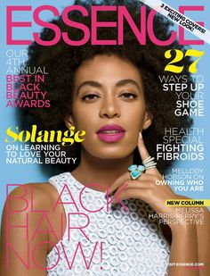 Essence May 2014 Beauty Issue - Solange