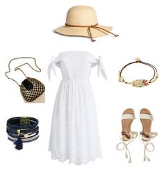 A fashion look from June 2017 featuring off shoulder summer dress, tie sandals and rhinestone bangles. Browse and shop related looks. 2 In, Hollister, Bangles, Fashion Looks, Summer Dresses, Polyvore, Shopping, Bracelets, Sundresses
