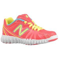 New Balance 2750 - Girls' Grade School - Running - Shoes - Pink/Yellow
