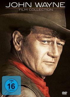 "JOHN WAYNE FILM COLLECTION - Picture from ""The Comancheros"" starring John Wayne & Stuart Whitman - 20th Century-Fox - DVD Cover Art."