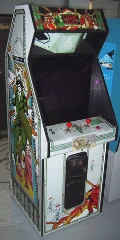 Atari Cloak and Daggar arcade game Pinball Games, Arcade Games, Vintage Video Games, Vintage Games, History Of Video Games, Arcade Console, Retro Images, Arcade Machine, Some Games