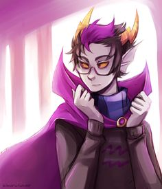 My favourite troll of HomeStuck. Idk why, but I feel really connected to him, like we have a lot of things in common. I can't wait to cosplay him.