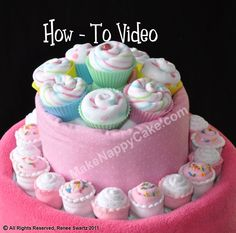 how to cake videos, also lollipops