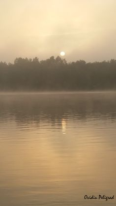 Rasarit de soare in Delta Dunarii - Bratul Sf. Gheorghe